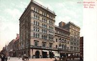 Metropolitan Opera House,Manhattan, New York City, Early Postcard, Unused