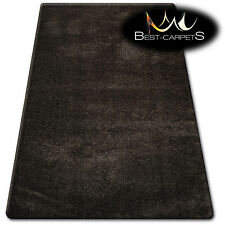 "AMAZING SOFT & THICK RUG SHAGGY ""MICRO"" Polyester Brown HIGH QUALITY carpets"