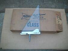 NOS MoPar 1959 Desoto FireFlite Chrsyler New Yorker Left Vent Wing Glass W Frame