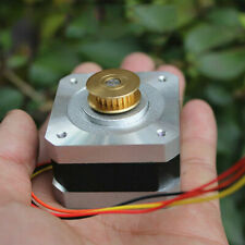 18 Degree 42mm 2 Phase 4 Wire Stepper Motor Synchronous Pulley 3d Printer Robot
