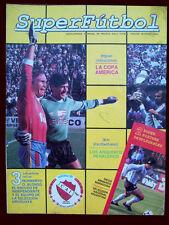 SOCCER URUGUAY AMERICA CUP CHAMPION 1987 Superfutbol # 6 newspaper Argentina