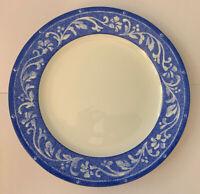 "Sakura Sue Zipkin Blue Vine Dinner Plate 10 7/8"""