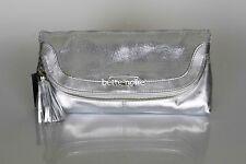 MIMCO MIRAGE CLUTCH SILVER Metallic Leather BNWT RRP$299 Formal Evening Handbag