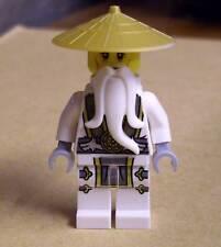 Lego Ninjago Figur - Master Wu ( Sensei weiss white Meister Set 70734 ) Neu