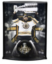 Tim Thomas Autographed Boston Bruins Puck Curved Display 8X10 Photo #/50 UDA
