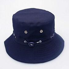 1pc Sapphire Hot  Unisex Bucket Hunting Fishing Outdoor Cap Men Summer Sun Hats