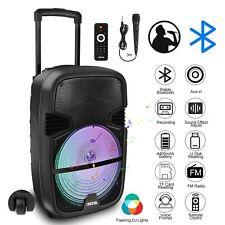 "iNOVA Pro Powered 12"" Karaoke Machine/System 4 ipad/iphone/Android/Laptop/TV"