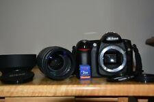 Nikon D50 6.1Mp Digital Slr Camera - w/ Nikon Af 70-300mm f/1.4-5.6 lens Ex +