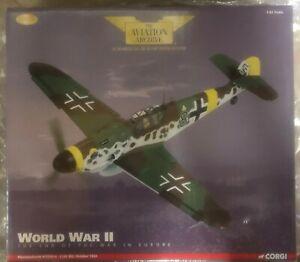 CORGI AVIATION ARCHIVE AA34905 MESSERSCHMITT BF109 WORLD WAR TWO MIB MINT IN BOX