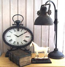 Lampe Tischleuchte Industrielampe Fabriklampe Stehlampe Factory shabby - antik