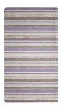 Wool Blend Striped Modern Hand-Woven Rugs