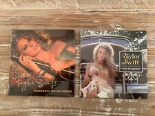 """Taylor Swift Teardrops On My Guitar & Tim McGraw, Record 7"""" Vinyl Numbered NEW"""
