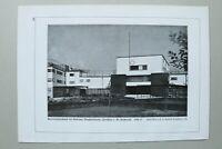 BB1) Bauhaus Architektur Ernst May + T H Rudolff 1928 Frankfurt Bruchfeldstraße