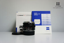BRAND NEW Carl Zeiss C-Sonnar T* ZM 50mm F/1.5 Lens (Black) Leica M / EVIL