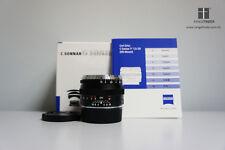 Carl Zeiss C Sonnar T* 50mm F1.5 ZM Standard Lens Black Leica M M9 M8.2
