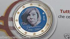 2 euro 2014 Finlandia colorato II tipo Suomi Finland Finlande 100 Tove JANSSON
