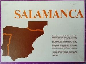 MAPLAY SALAMANCA UNPUNCHED! SPI AVALON HILL GDW RELATED
