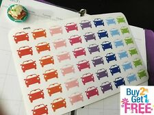 PP070 -- Small Mobile Car Planner Stickers for Erin Condren (48pcs) BUY2GET1FREE