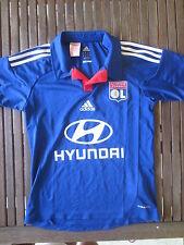 Maillot OLYMPIQUE LYONNAIS OL LYON bleu ADIDAS shirt enfant 14 ans Hyundai 2013