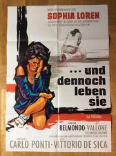 Und dennoch leben sie (Kinoplakat '68) - Sophia Loren / Jean-Paul Belmondo