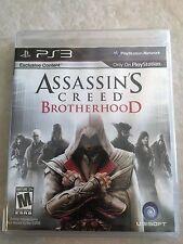 Assassin's Creed: Brotherhood (Sony PlayStation 3, 2010) UESD SEALED