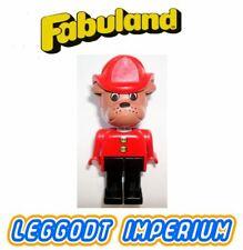 LEGO Fabuland Barty Bulldog - rare minifig FREE POST