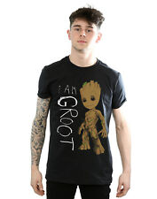Marvel Men's Guardians of The Galaxy I Am Groot SCRIBBLES T-shirt X-large