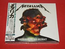 2016 METALLICA Hardwired...To Self-Destruct JAPAN DIGIPAK 2 SHM CD