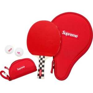 Supreme FW19 Butterfly Table Tennis Racket Set CHECKERBOARD