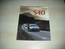 51410) Volvo S 40 Prospekt 02/1996
