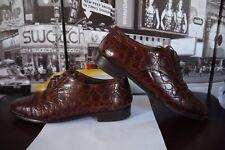 Vintage Baldinini Real Crocodlie oxfords shoes Woman's size EU 39 / US 9