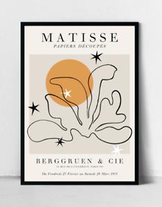 Matisse Sun and Shapes Poster, Henri Matisse Art Print