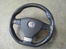 3-Speichen Sportlenkrad VW Golf 5 GTI Lederlenkrad Multifunktion 1K0419091BA