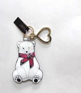 Victoria's Secret Polar Bear Keychain Keyring