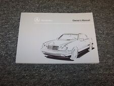 1996 Mercedes Benz E300 Diesel & E320 Owner Owner's Operator User Guide Manual