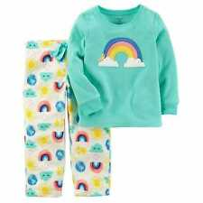 Carter's Girls' 2-Piece Fleece Pajamas Top And Pants Sets