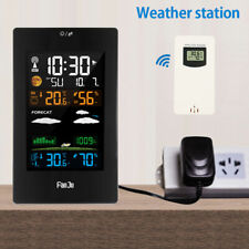 Wireless Weather Station Thermometer Barometer Humidity Indoor/Outdoor Sensor ❀