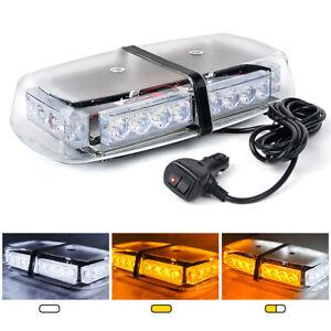 Xprite 24 LED Strobe Light Bar Roof Top Emergency Hazard Flash Light - 6 Colors