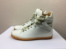 MAISON MARTIN MARGIELA x H&M WHITE SNEAKERS HIGH TOP SHOES US 7 EUR 38