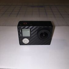 GoPro Hero 4 Black EDITION Carbon Fiber Custom Vinyl Decal Sticker JDM