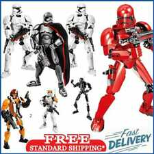 Star Wars Buildable Action Figure Stormtrooper Darth Vader Chewbacca Kids Toy