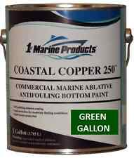 Coastal Copper 250 Ablative Antifouling Bottom Paint Green Gallon