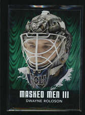 DWAYNE ROLOSON 2010/11 10/11 ITG BETWEEN THE PIPES MASKED MEN III EMERALD AB6691