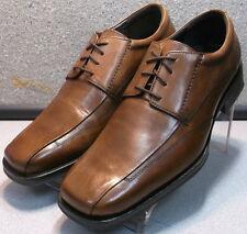 5931180 DF30 Men's Shoes Size 10 M Tan Leather Oxfords Johnston & Murphy