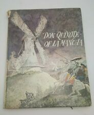 Don Quixote Of La Mancha Vintage Book