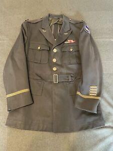 Original American World War Two, Officers Class A Tunic, 15th Air Force Bullion