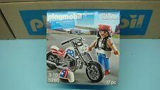 Playmobil 5280 American Chopper Biker with Motorcycle NEW  Geobra 177