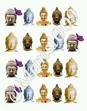 Buddah Nail Decals  (water decals) Buddah nail art