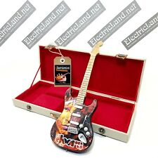 Mini Guitar JIM MORRISON Doors + hard case box scale 1:4 miniature collectible
