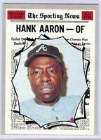Hank Aaron 1970 Topps All-Star Vintage Baseball Card #462 Atlanta Braves 1539